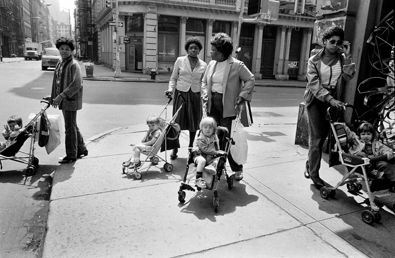Street Photography Richard Sandler Women pushing prams