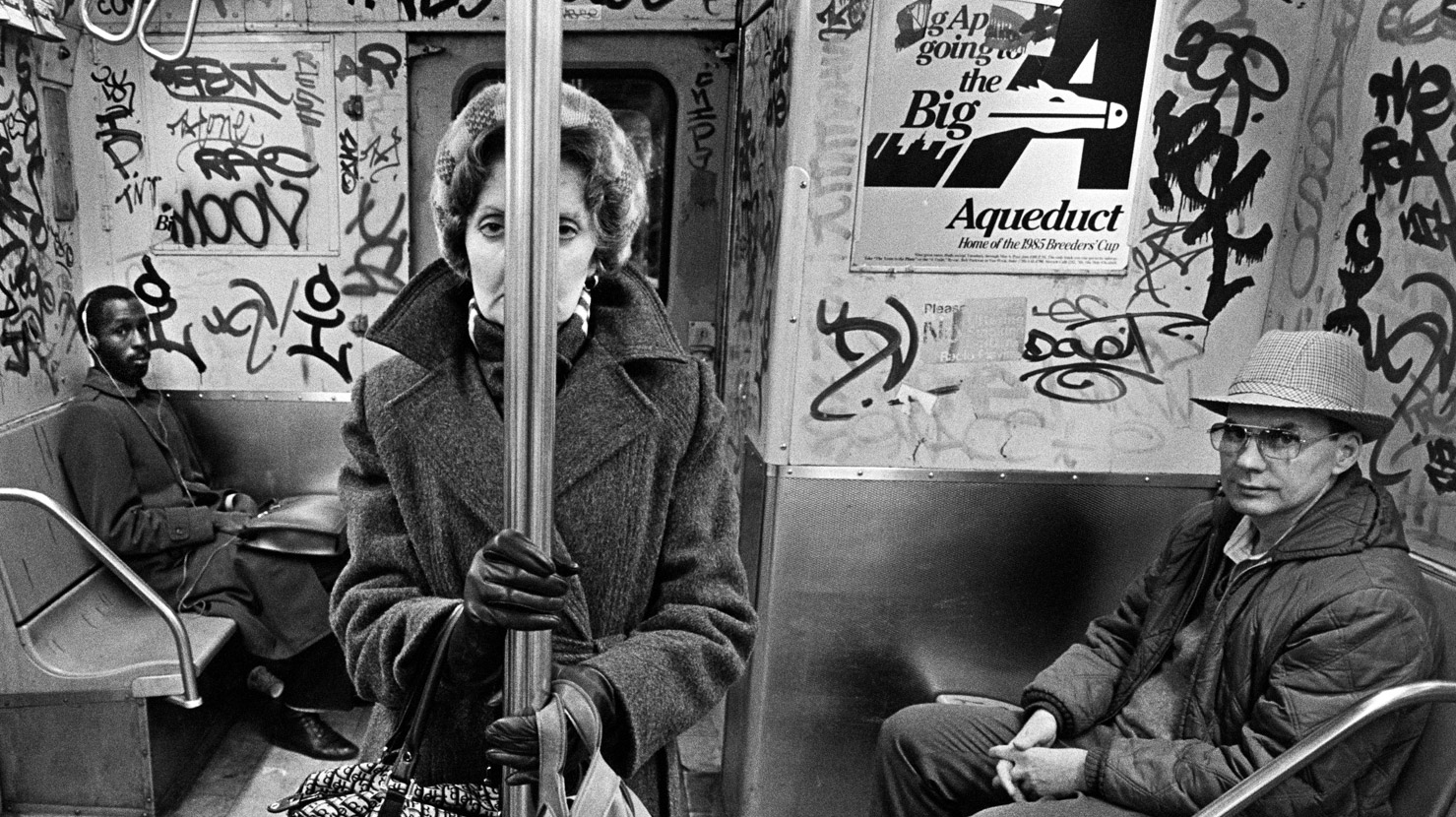 Feature Richard Sandler People on train