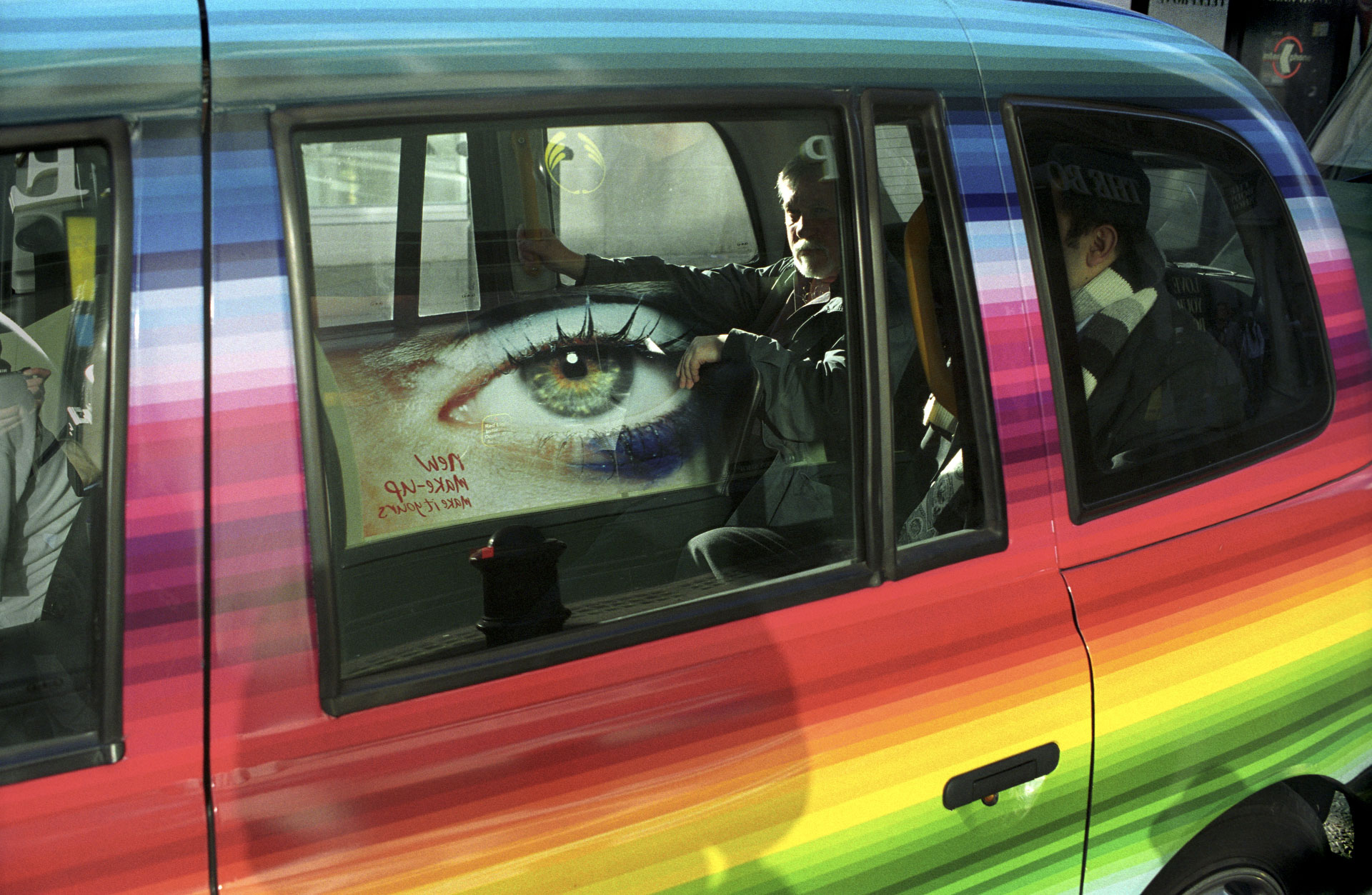 Nick Turpin Street Taxi Eye
