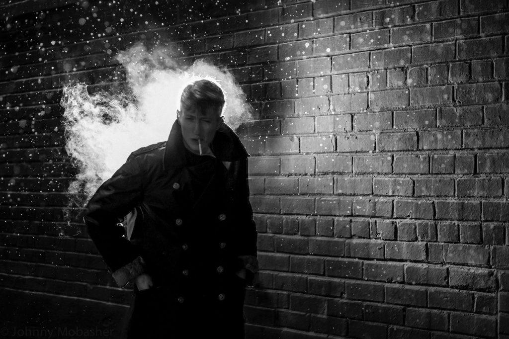 Guy Smoking Satoki Nagata Street Photography