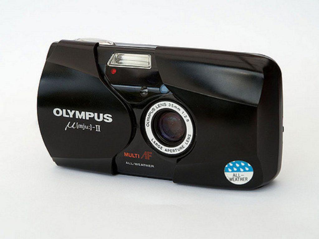 Olympus-MJU-II Camera